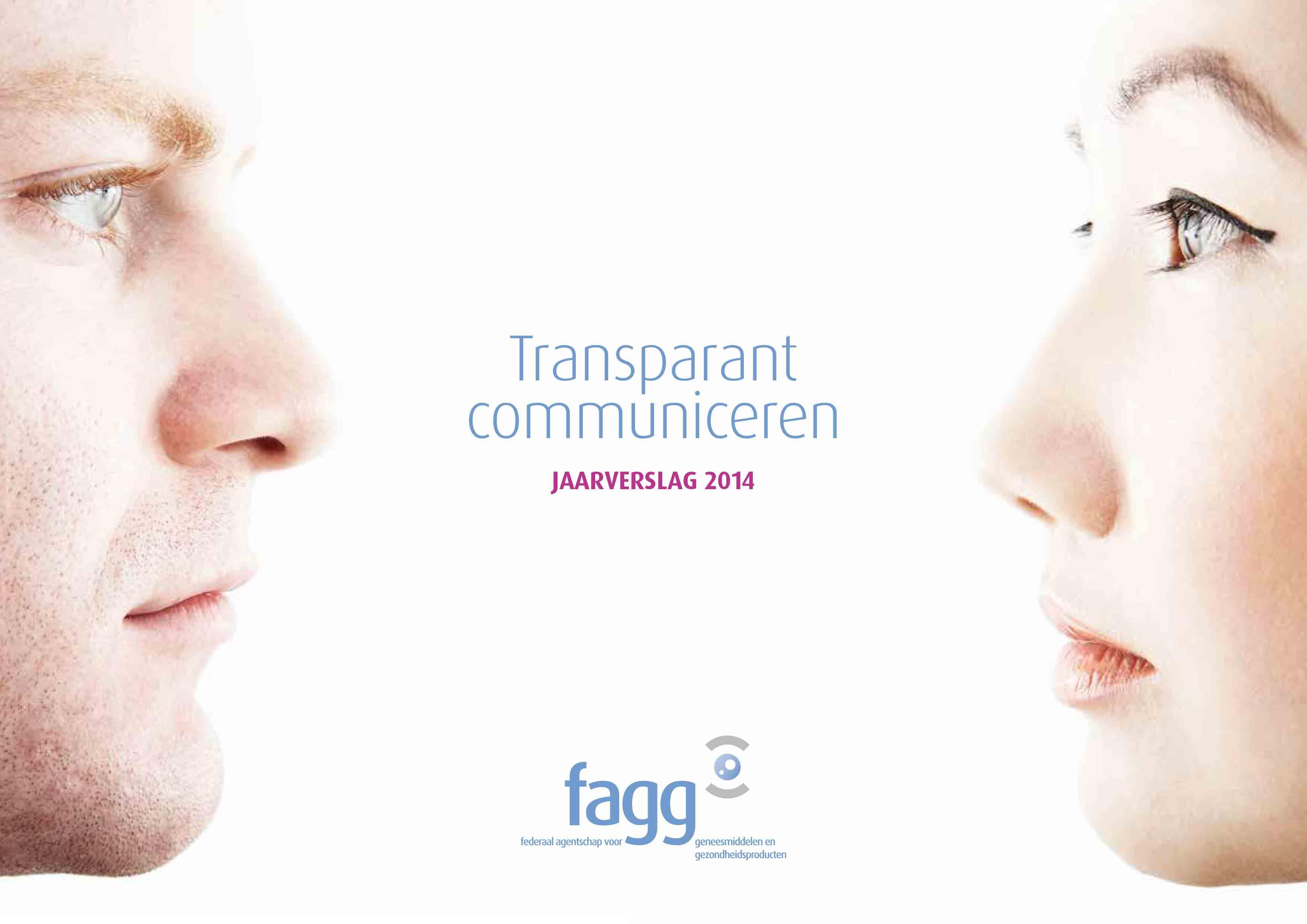 Jaarverslag 2014 cover NL